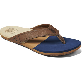 Reef Tri Newport Sandals Men, azul/marrón